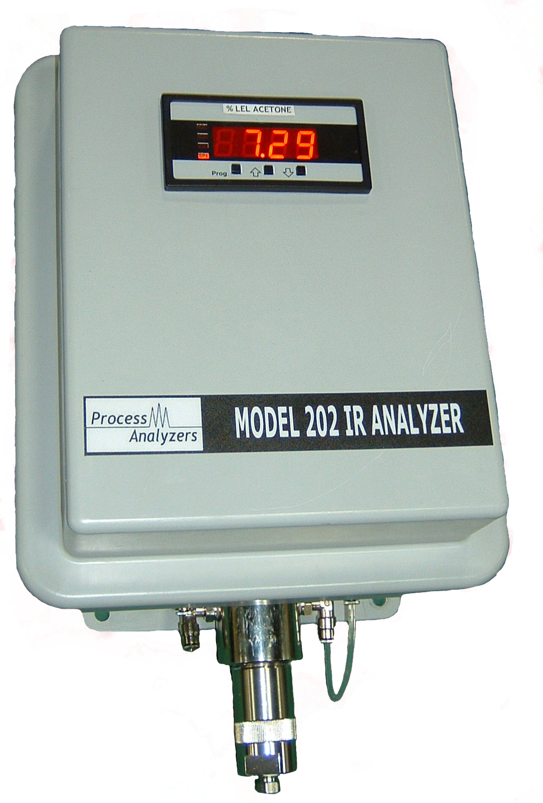 Model 202 Infrared Analyzer for LEL, Hydrocarbons, CH4, CO, CO2